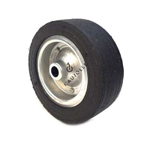 rubber st wheel wide wheel 250 mm diameter with 25 mm bearings
