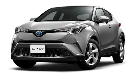 toyota c hr hybrid official dpccars