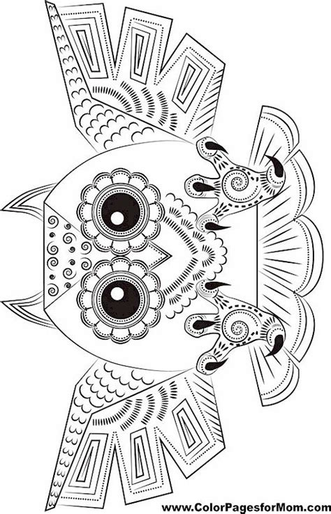owl doodle coloring page 436 best images about owl coloring pages uil kleurplaten