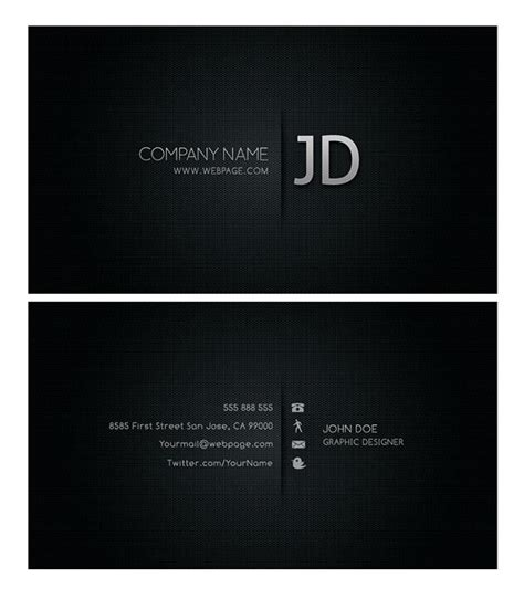 Cool Photshop Template Business Cards by Cool Business Card Template Source Files Free