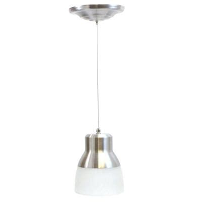 Battery Operated Pendant Lights It S Exciting Lighting 24 Light Nickel Led Battery Operated Ceiling Pendant With Frosted Glass
