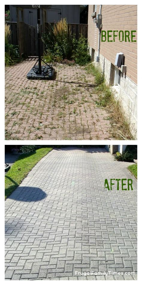 How To Build A Paving Patio by How To Make A Free Brick Driveway That Stays That