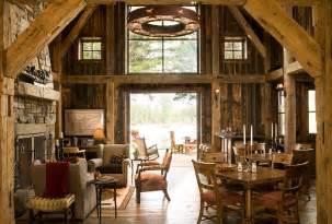 barn home decor 30 rustic living room ideas for a cozy organic home