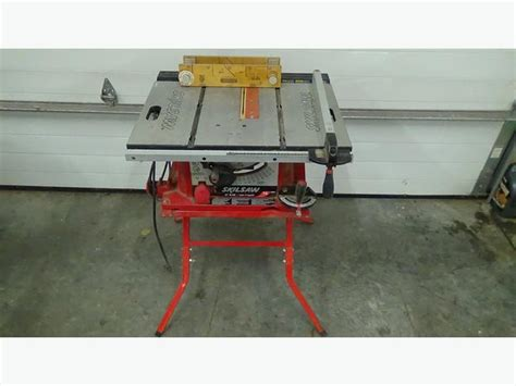 Skilsaw 10 Table Saw by Skilsaw 10 Blade Table Saw 3400 Mitre Box Langley