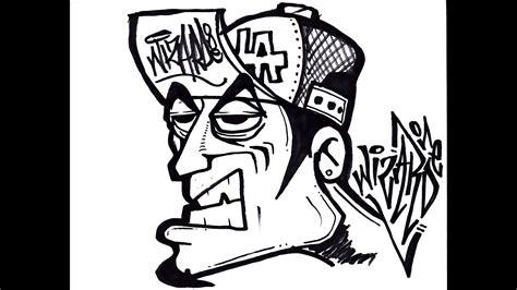 draw  oldschool graffiti character  youtube