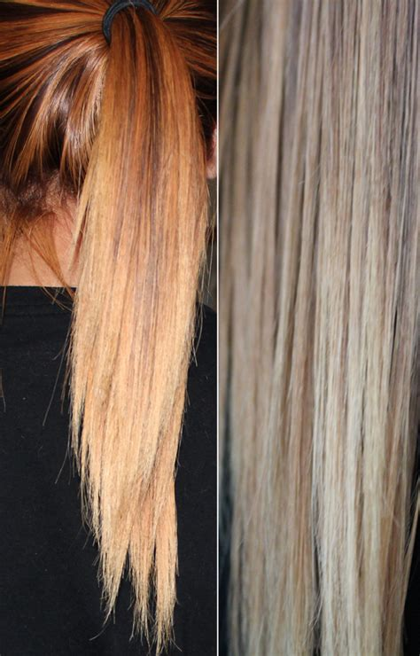 light ash blonde hair color over yellowish orange hair light ash blonde over red hair newhairstylesformen2014 com