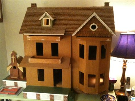 18 inch doll house kit real good toys front opening country victorian dollhouse kit 1 inch scale