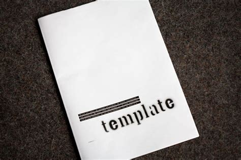 Fpo Template Zine Zine Magazine Template