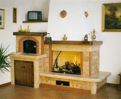 camini rustici con forno a legna caminetti moderni camini rustici caminetti a legna
