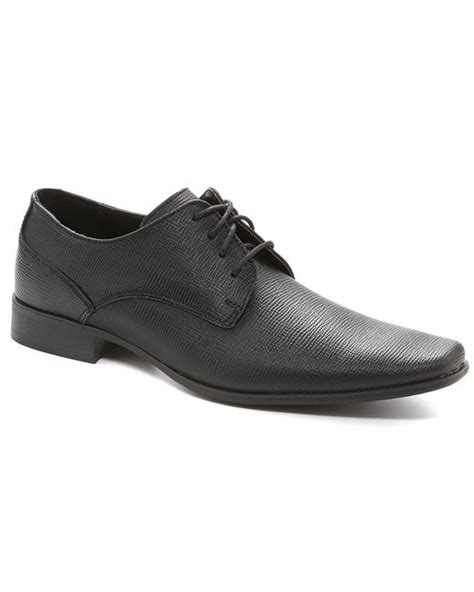 calvin klein dress shoes calvin klein brodie dress shoes in black for lyst