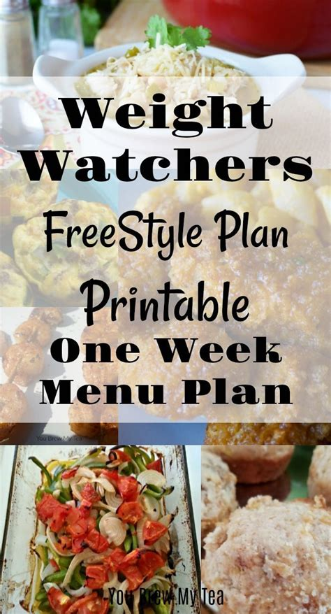 weight watchers freestyle 31 days meal plan 25 healthy recipes books the 25 best menu planning ideas on weekly