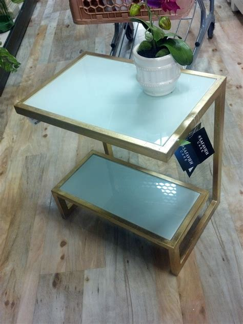 home goods design happy blog gold and glass side table score from homegoods on the blog