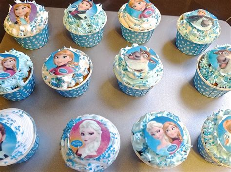 Arts And Crafts Style Home by How To Make Disney Frozen Inspired Vanilla Cupcakes Recipe