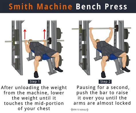 what does benching do smith machine bench press what is it how to do is it good
