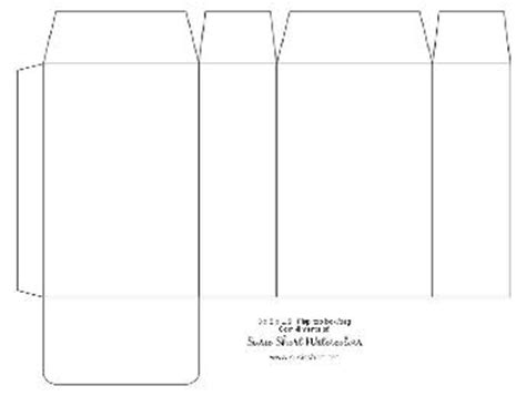 rectangle box card template printable gift box templates free to print and make