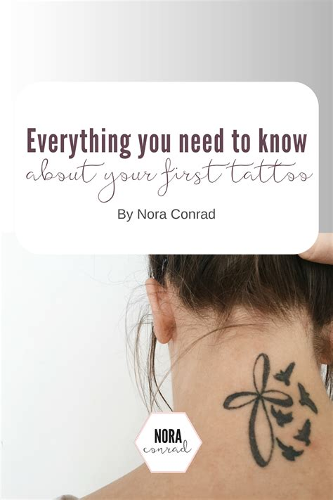 first tattoo what to expect everything you need to about your nora