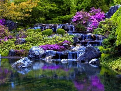 beautiful waterfalls with flowers pics for gt beautiful waterfalls with flowers places to visit pinterest beautiful posts