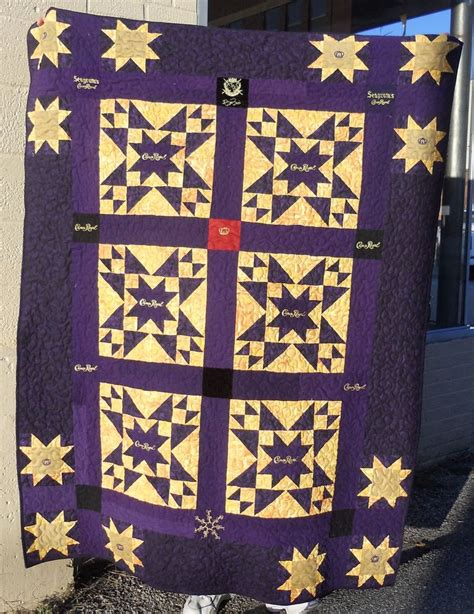 quilt pattern using crown royal bags pin by kris bachand on crown royal pinterest