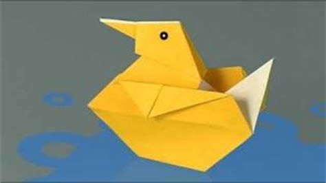 How To Make A Paper Duck - origami duck papercraftsquare
