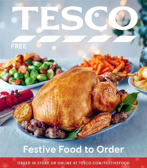 tesco christmas food festive food to order guide 2017 by tesco magazine issuu