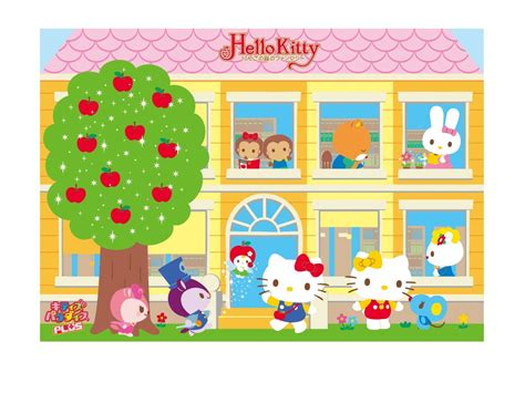 hello kitty house wallpaper mimmy and hello kitty wallpaper mimmy and hello kitty house