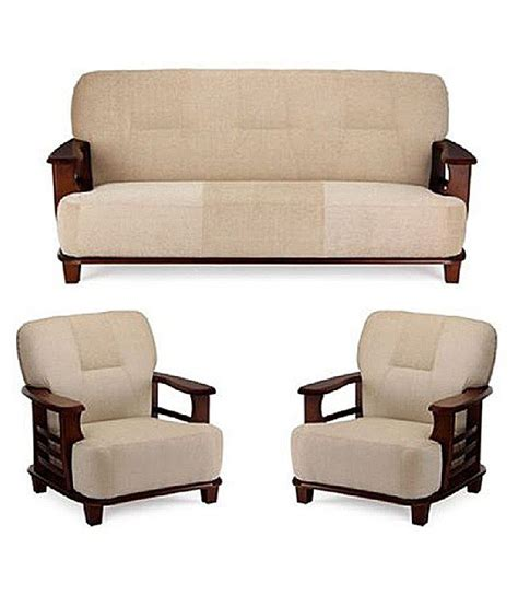 sofa 2 50 m teak wood 5 seater sofa set 3 1 1 buy at