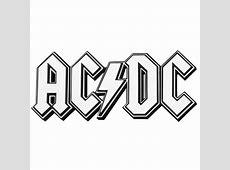 AC/DC Logo Magnet - Rockabilia Ac Dc Logo Images