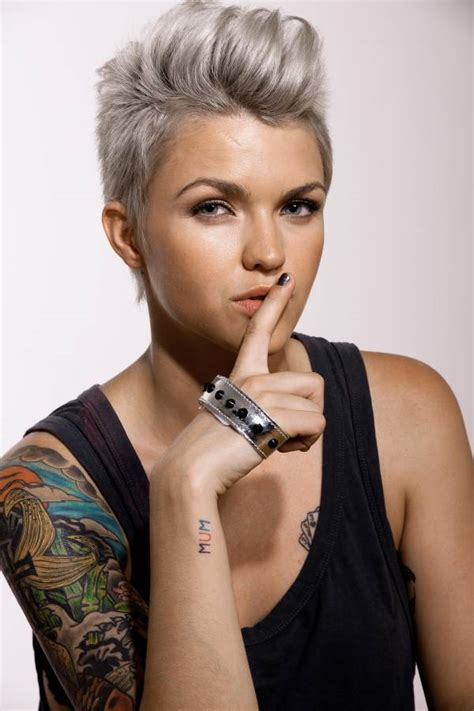 ruby rose haircut ruby rose hair on pinterest ruby rose rose hair and