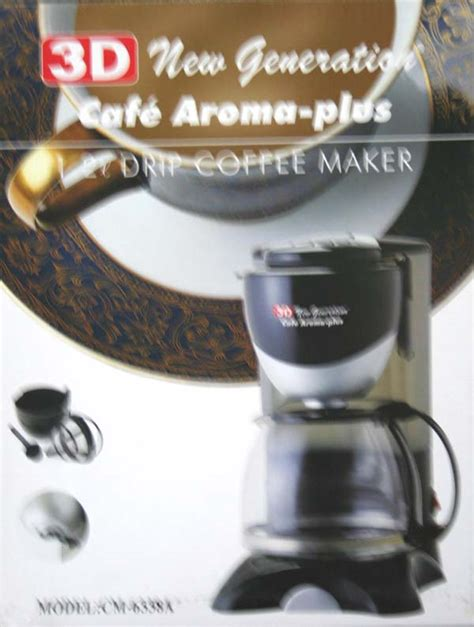 Coffe Measuring Cm 08 3d cm6338a coffee maker cebu appliance center