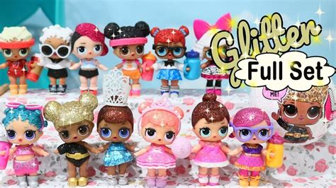 Lol Glitter Series glitter series set toys and dolls with shimmer