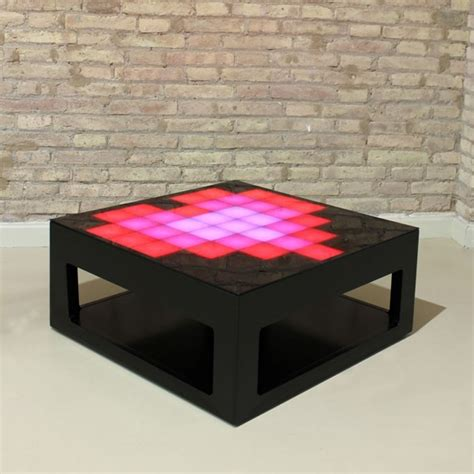 Interactive Led Coffee Table Interactive Coffee Table With Led Lights Mypixeek