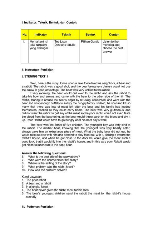 contoh application letter beserta terjemahannya contoh narrative text bahasa inggris beserta terjemahannya