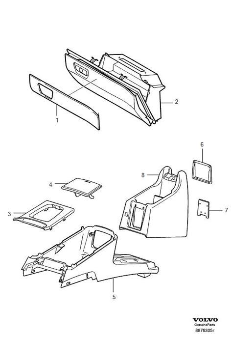 Volvo Xc90 Interior Parts by Volvo Xc90 Interior Trim Parts
