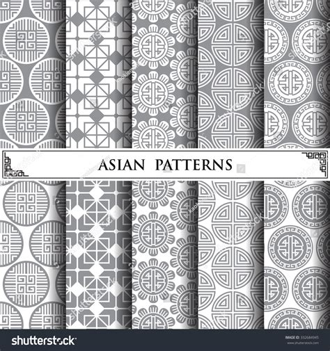 pattern fill image svg asian vector patternpattern fills web page stock vector
