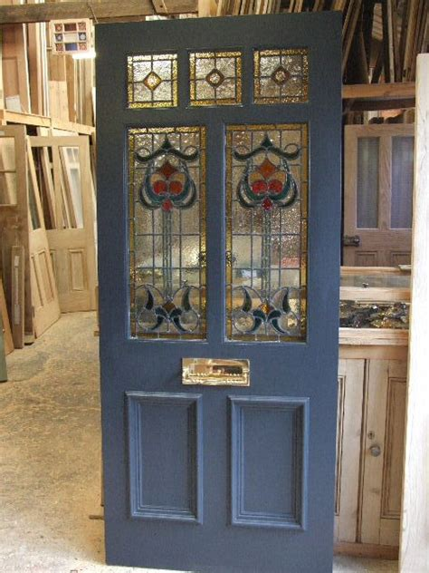 Stained Glass Door Company House Front On Front Gardens Front Doors And Mosaic Tiles
