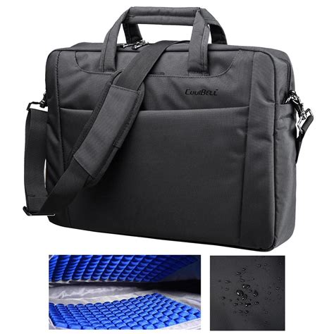 coolbell laptop bag notebook carrying shoulder bubble pad
