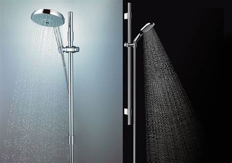 Showerhead Or Shower by Grohe Rainshower Icon Showerhead Stylehomes Net