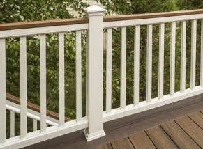 banister options deck railing systems composite outdoor deck railing trex