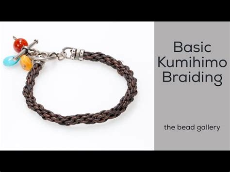 Bead Snack Basic Kumihimo With The Bead Gallery