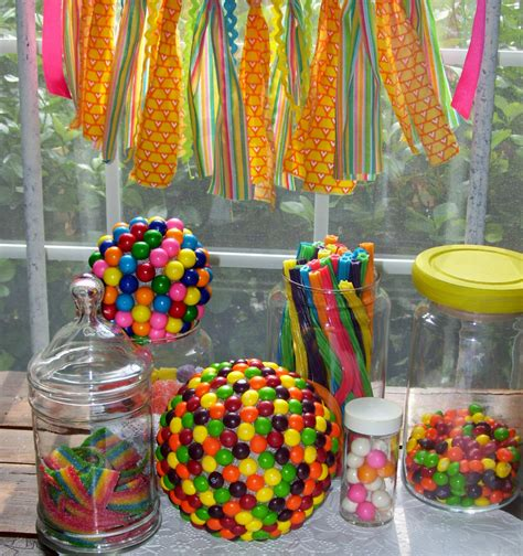 sweet themed event design troll decor candy party decor katy perry decor skittles