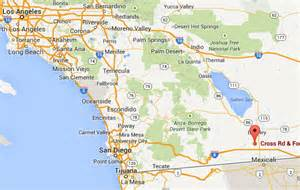 map of imperial california 8 homes evacuated after jet crashes into