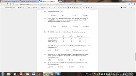 statistics section ii part a questions 1 5 answers statistics and probability archive february 17 2015