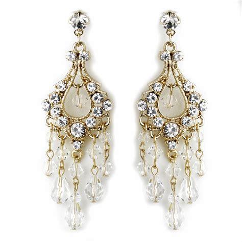 Swarovski Crystal Rhinestone Chandelier Earrings E 9685 Swarovski Chandelier Earrings