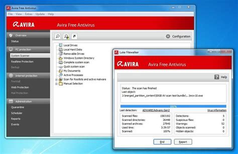 Anti Virus Avira avira free antivirus 2012 review review pc advisor