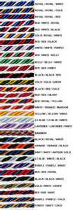 honor cords color meaning graduation honor cord mix colors for a