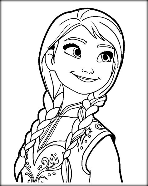 disney frozen coloring pages elsa let it go color zini