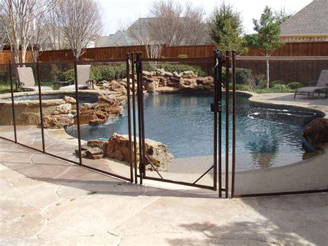 diy mesh pool fence childguard mesh removable diy pool fence