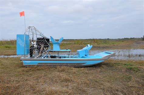 airboat with wings whisper tip ex