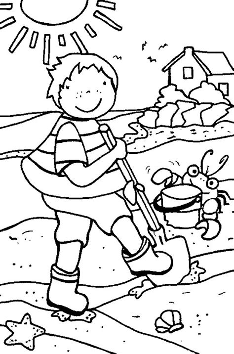 summer coloring pages print summer pictures to color at
