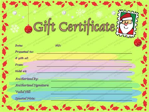 Gift Certificate Letter Template letter gift certificate template